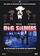 Dog Soldiers - German DVD cover (xs thumbnail)