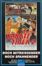 No Retreat No Surrender 2 - German VHS cover (xs thumbnail)