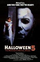 Halloween 5 - Movie Poster (xs thumbnail)