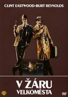 City Heat - Czech DVD movie cover (xs thumbnail)