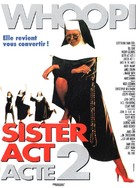 Sister Act 2: Back in the Habit - French Movie Poster (xs thumbnail)