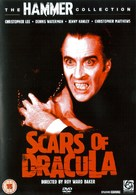 Scars of Dracula - British DVD movie cover (xs thumbnail)