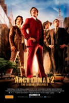 Anchorman 2: The Legend Continues - Australian Movie Poster (xs thumbnail)