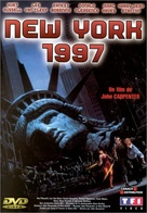 Escape From New York - French DVD cover (xs thumbnail)