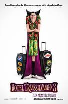 Hotel Transylvania 3: Summer Vacation - German Movie Poster (xs thumbnail)