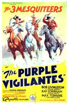The Purple Vigilantes - Movie Poster (xs thumbnail)