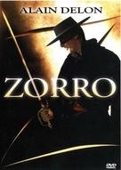 Zorro - French DVD movie cover (xs thumbnail)
