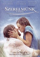 The Notebook - Hungarian DVD cover (xs thumbnail)
