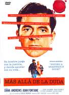 Beyond a Reasonable Doubt - Spanish DVD movie cover (xs thumbnail)