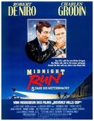 Midnight Run - German Movie Poster (xs thumbnail)