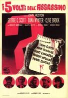 The List of Adrian Messenger - Italian Movie Poster (xs thumbnail)