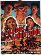 The Grapes of Wrath - Belgian Movie Poster (xs thumbnail)