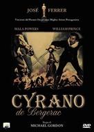 Cyrano de Bergerac - Italian DVD cover (xs thumbnail)