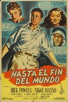 To the Ends of the Earth - Argentinian Movie Poster (xs thumbnail)