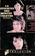 La revanche des mortes vivantes - Canadian VHS cover (xs thumbnail)