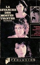 La revanche des mortes vivantes - Canadian VHS movie cover (xs thumbnail)