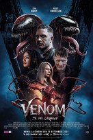 Venom: Let There Be Carnage - Romanian Movie Poster (xs thumbnail)