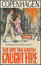 The Day the Earth Caught Fire - Danish Movie Poster (xs thumbnail)