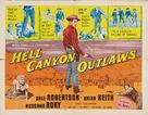 Hell Canyon Outlaws - Movie Poster (xs thumbnail)