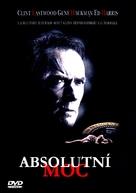 Absolute Power - Czech DVD cover (xs thumbnail)