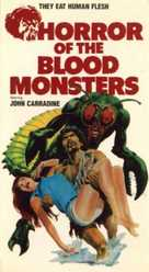 Horror of the Blood Monsters - VHS cover (xs thumbnail)