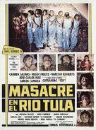 Masacre en el río Tula - Mexican Movie Poster (xs thumbnail)
