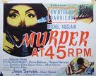Meurtre en 45 tours - Movie Poster (xs thumbnail)