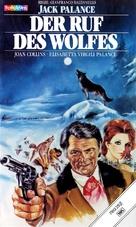 Il richiamo del lupo - German VHS movie cover (xs thumbnail)