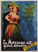 Tennessee's Partner - French Movie Poster (xs thumbnail)