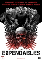 The Expendables - Norwegian DVD movie cover (xs thumbnail)
