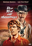 I giorni dell'ira - German DVD cover (xs thumbnail)
