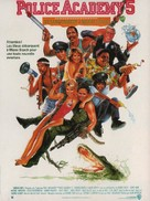 Police Academy 5: Assignment: Miami Beach - French Movie Poster (xs thumbnail)