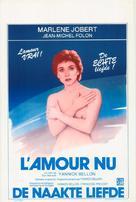 L'amour nu - Belgian Movie Poster (xs thumbnail)