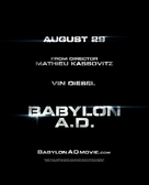 Babylon A.D. - British Movie Poster (xs thumbnail)
