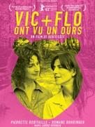 Vic et Flo ont vu un ours - French Movie Poster (xs thumbnail)