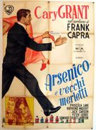 Arsenic and Old Lace - Italian Movie Poster (xs thumbnail)