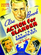 Action for Slander - Movie Poster (xs thumbnail)