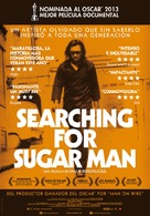 Searching for Sugar Man - Spanish Movie Poster (xs thumbnail)
