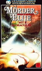 Murder Elite - German VHS movie cover (xs thumbnail)