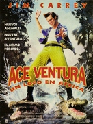 Ace Ventura: When Nature Calls - Argentinian Movie Poster (xs thumbnail)