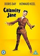 Calamity Jane - British DVD movie cover (xs thumbnail)