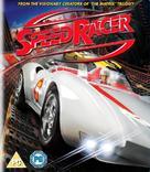 Speed Racer - British Blu-Ray movie cover (xs thumbnail)