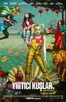 Harley Quinn: Birds of Prey - Turkish Movie Poster (xs thumbnail)