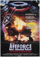 Lifeforce - German Movie Poster (xs thumbnail)