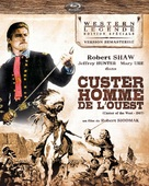 Custer of the West - French Blu-Ray cover (xs thumbnail)