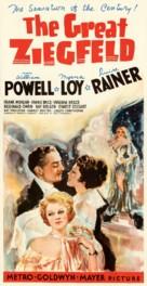 The Great Ziegfeld - Movie Poster (xs thumbnail)