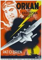 China Clipper - Swedish Movie Poster (xs thumbnail)