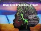 Wo die grünen Ameisen träumen - British Movie Poster (xs thumbnail)
