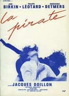 La pirate - French Movie Poster (xs thumbnail)