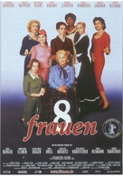 8 femmes - German Movie Poster (xs thumbnail)